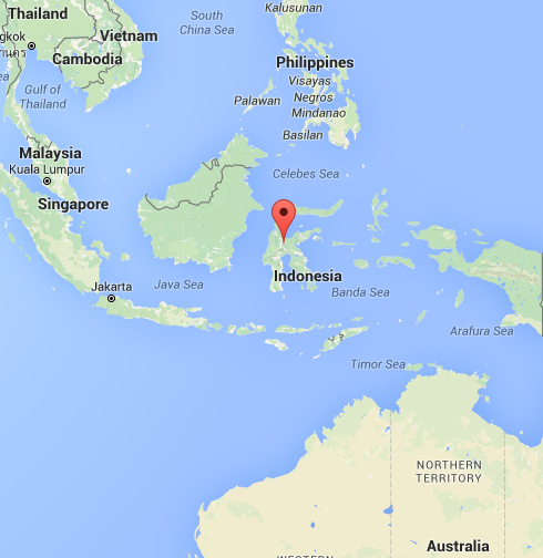 Sulawesi? Google tells you, where!